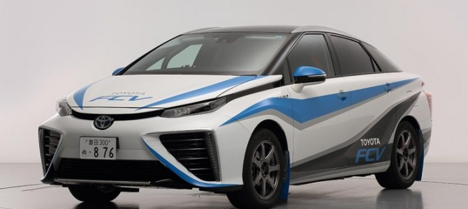 Toyota fuel cell tackles rally championship