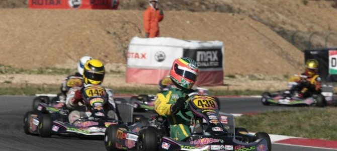 South Africans take on the world in the biggest karting championship on the planet