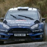 Ogier heads Latvala in Rally GB duel