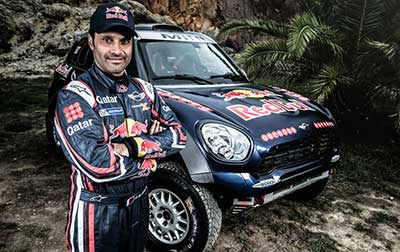 Nasser Al-Attiyah to drive a MINI in Dakar Rally