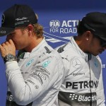 Wolff fed up babysitting Lewis Hamilton and Nico Rosberg during 2014 title fight