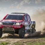 Toyota tweaks Giniel's Hilux for Dakar