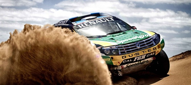 Renault Duster team aim for top ten on Dakar