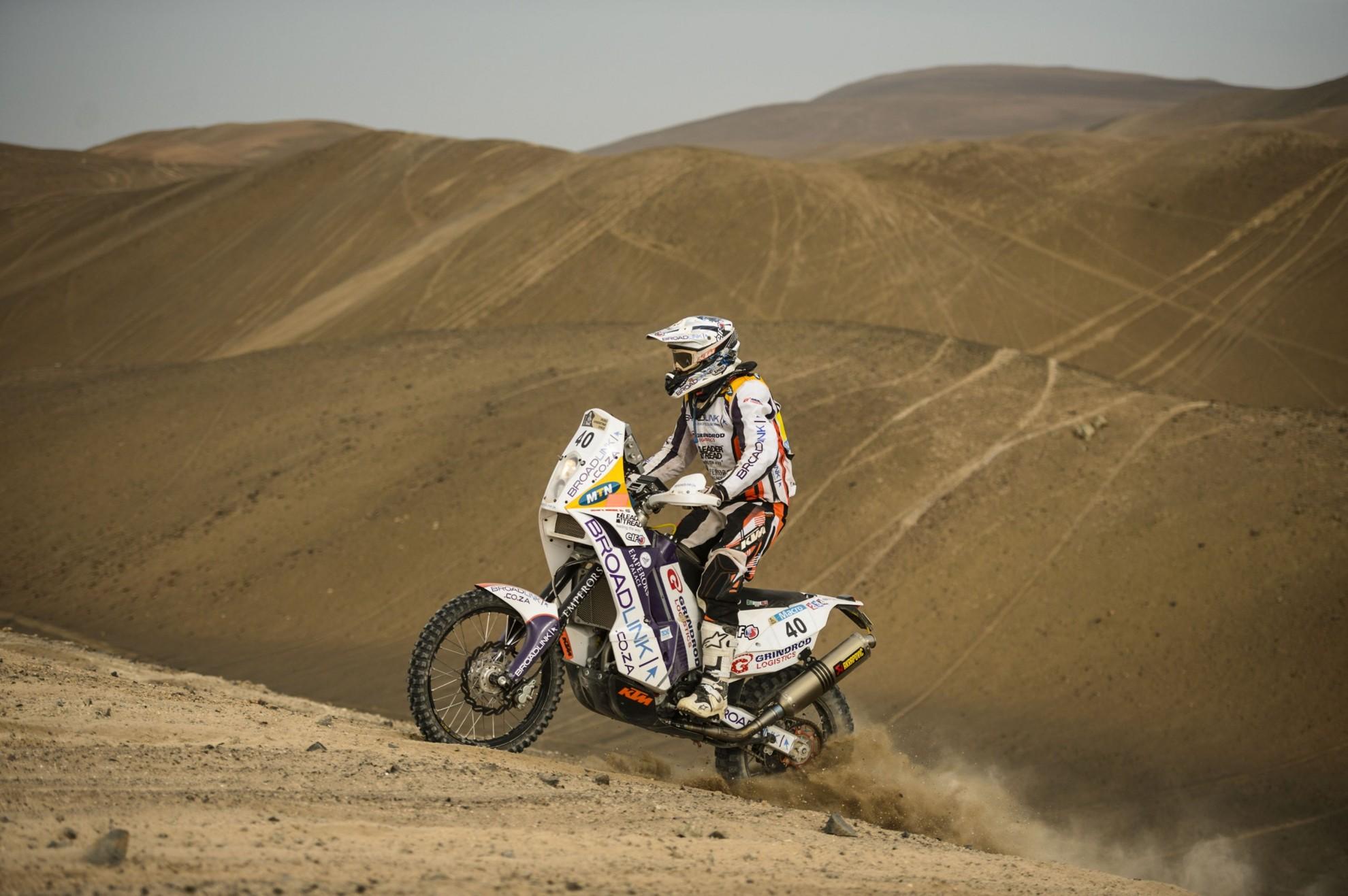 Riaan van Niekerk Broadlink KTM