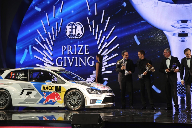 VW prizegiving
