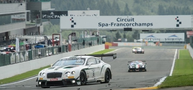 Bentley makes a comeback on the race track
