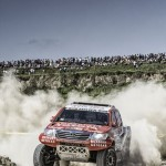 SECOND AND THIRD FASTEST TIMES FOR TOYOTA'S DE VILLIERS AND AL-RAJHI