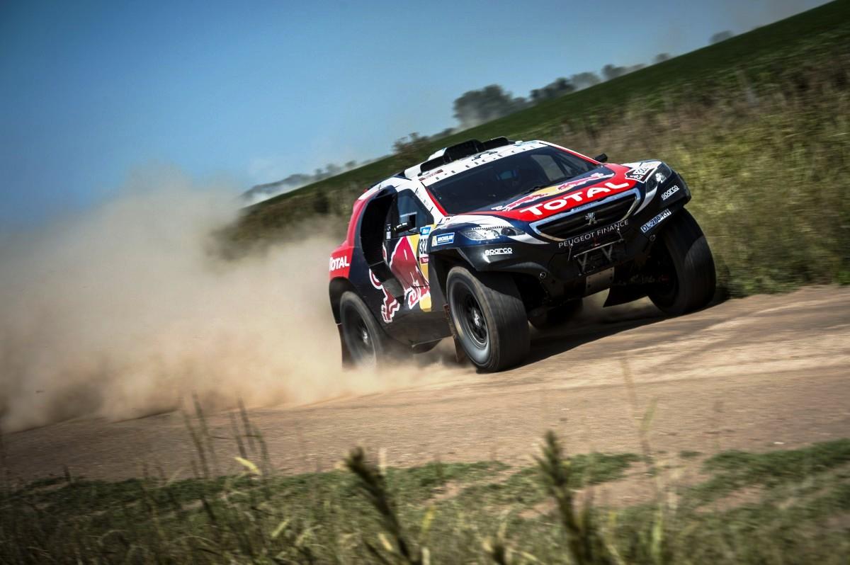 Peugeot Dakar stage