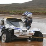 "Romain Dumas: ""My car turned into a boat"""