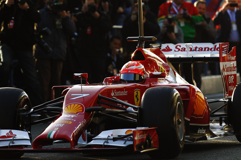 Kimi Raikkonen Ferrari 2014