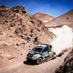 DE VILLIERS AND AL-RAJHI SUFFER SETBACKS ON NINTH STAGE INTO CALAMA BUT MAINTAIN SECOND AND THIRD OVERALL