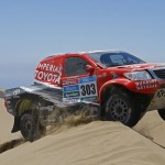 DE VILLIERS/VON ZITZEWITZ SECOND ON STAGE 7 OF DAKAR 2015, AS POULTER CONSOLIDATES