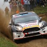 Kajetanowicz leads Jannerrallye, Breen crashes out