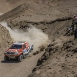 DE VILLIERS/VON ZITZEWITZ SECOND ON STAGE 6 OF DAKAR 2015