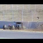 Fernando Alonso: McLaren driver concussed after crash