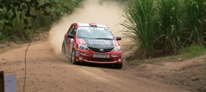 Cronje sets blistering pace on first day of Tour Natal rally