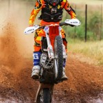 JUNIOR COMPETITORS FROM ALL OVER IN ACTION AT FIRST NATIONAL OFF-ROAD RACE