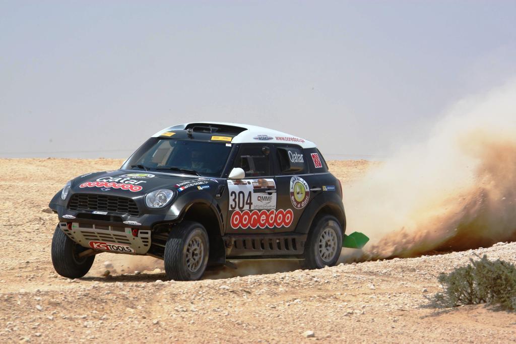 Nasser Al-Attiyah wins last year's Sealine