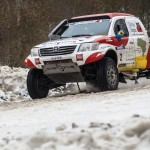 OVERDRIVE RACING SENDS THREE TOYOTA HILUXES TO KARELIA'S FROZEN FORESTS FOR FIA WORLD CUP OPENER