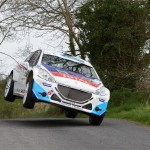 Breen and Meeke give rally fans a taste of the action at Circuit of Ireland launch