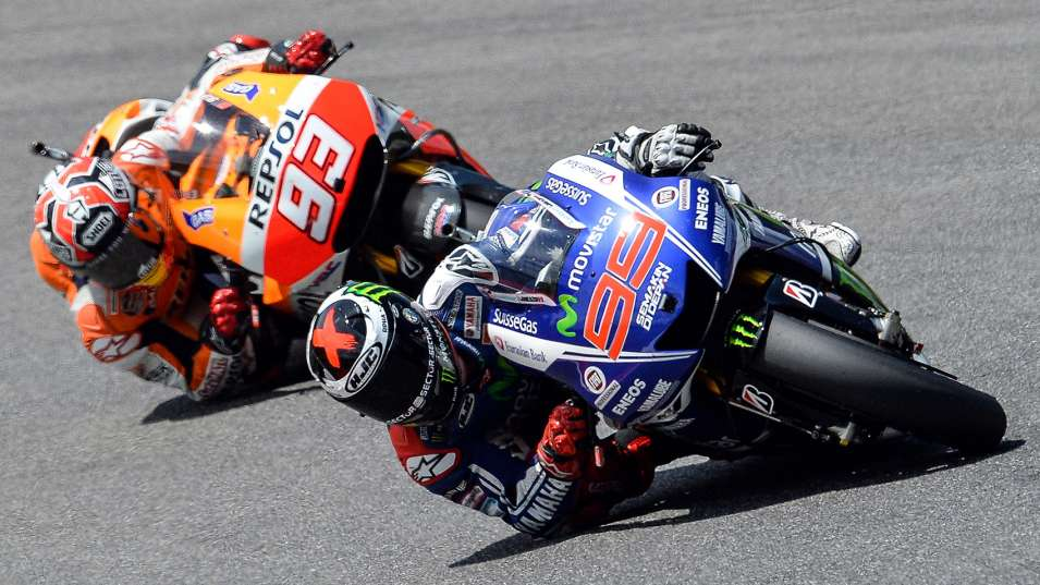 Lorenzo and Marquez