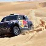 NASSER GRABS LEAD IN ABU DHABI DESERT CHALLENGE AS SUNDERLAND HEADS BATTLE OF BIKES