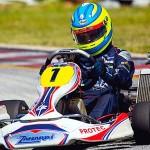 Track star Stephen steals PE national karting headlines