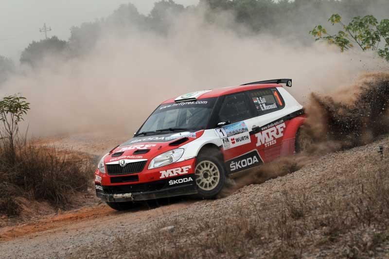 Gaurav Gill Indian Rally Champion