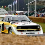 Mikkola and Quattro at McRae Anniversary