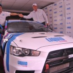 Duncan unveils new car as drivers prepare for tomorrow's Safari Rally