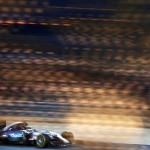 Lewis Hamilton claims pole position for F1's Bahrain Grand Prix