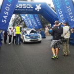 VW youngster first on the road for the challenging route of this year's Sasol Rally