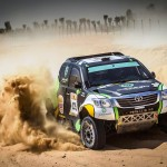 OVERDRIVE RACING'S AL-RAJHI AND DABROWSKI FINISH FIFTH AND SIXTH IN GRUELLING ABU DHABI DESERT CHALLENGE