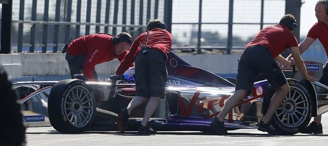 Citroen's top-secret Formula E test
