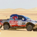 Yazeed wins the first stage in Rally Pharaons!