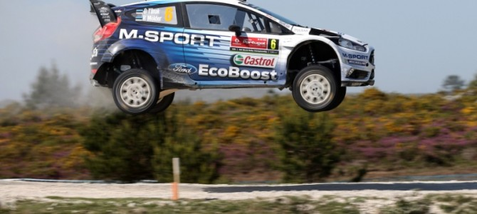 Rally de Portugal: Tanak: New M-Sport Ford a dream to drive