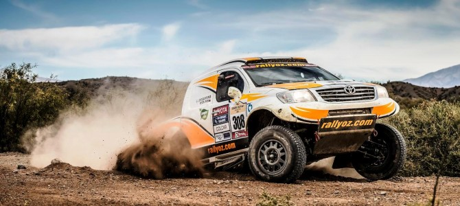 SOUTH RACING TRIO FINISH THIRD, FIFTH AND EIGHTH IN PUNISHING DESAFIO RUTA 40 IN ARGENTINA