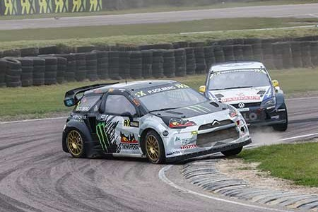 World RX victory for Solberg in Britain