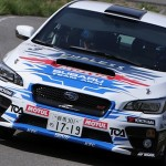 2015 Subaru WRX STI monopolizes the podium at All Japan Rally