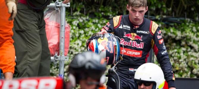 Formula 1 2015, Monaco: Max Verstappen penalised for crash with Romain Grosjean