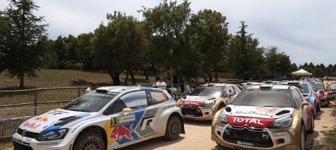 Sixty entries for Rally Italia Sardegna
