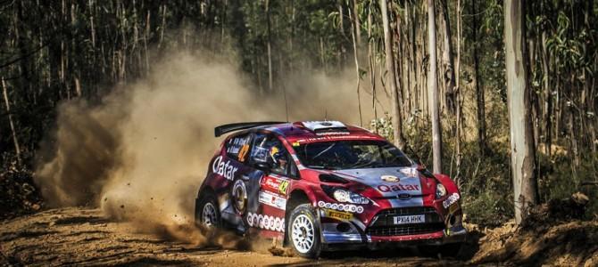 Al-Attiyah edges clear in Portugal WRC 2 fight