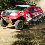 Production Vehicle crews chase early leaders Poulter/Howie
