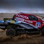 DOUBLE DESERT RACE TRIUMPH FOR CASTROL TOYOTA HILUX TEAM