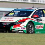 Tiago Monteiro wins eventful second race in Russia