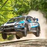 Subaru's David Higgins wins New England Forest Rally