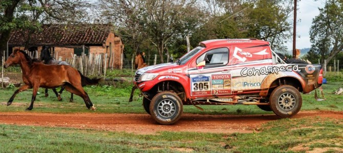 SOUTH RACING'S PETER JERIE TAKES OUTRIGHT VICTORY IN DESAFIO GUARANI IN PARAGUAY