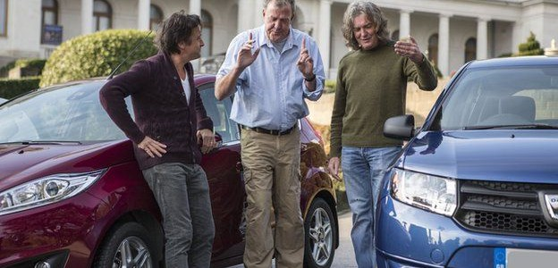 Top Gear's Jeremy Clarkson, Richard Hammond and James May making show for Amazon