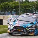 Ken Block, Ford roll to Red Bull Global Rallycross win on Belle Isle Saturday