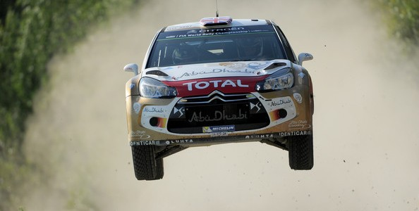 SS3: Ogier and Meeke duel for lead